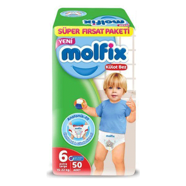 مولفیکس شماره 6 بسته کوچک