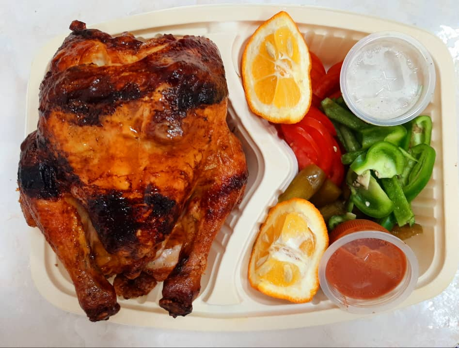 مرغ کامل شکم پر ویژه(هر عدد)